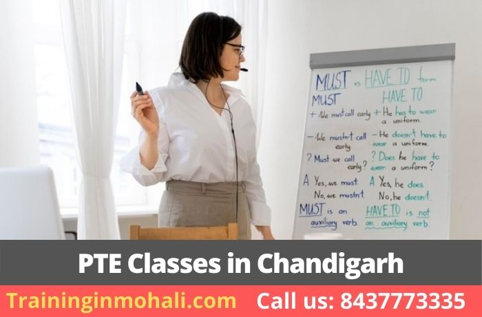 Top 5 PTE Coaching Classes in Chandigarh